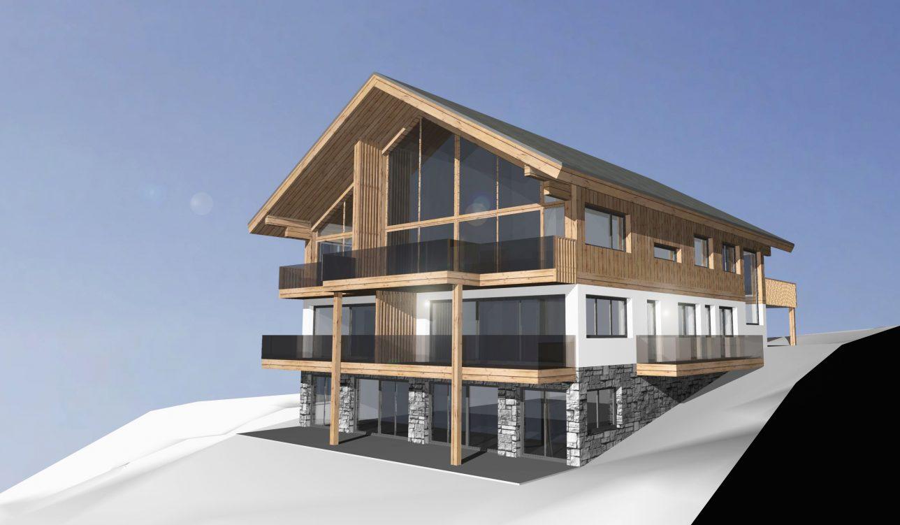 Mehrfamilienhaus Rohrmoos/Schladming | room architecture